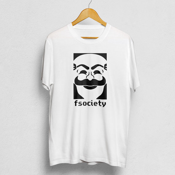 Fsociety T-shirt mr robot gifts