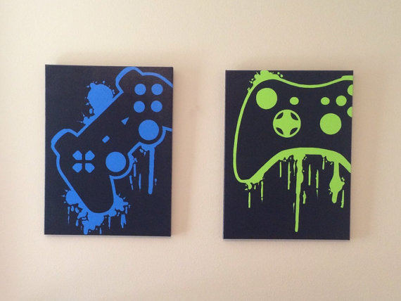 controller painting set