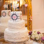 portal wedding cake
