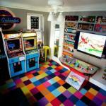 80's Retro Arcade Room