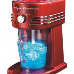 Nostalgia FBS400RETRORED Retro Series 32-Ounce Frozen Beverage Station