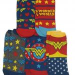DC Comics Wonder Woman 5 Pack Ankle Socks