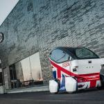 Lutz Pathfinder self-driving car in the UK