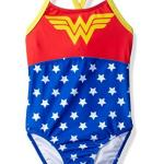 Warner Bros. Big Girls' Wonderwoman Swimsuit