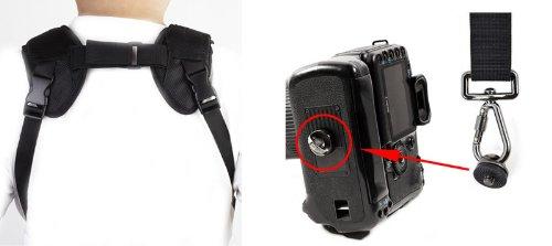 Dual camera shoulder strap