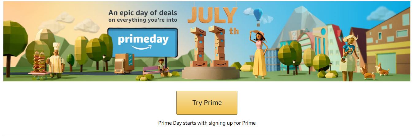 Amazon Prime Day 2017 July 10