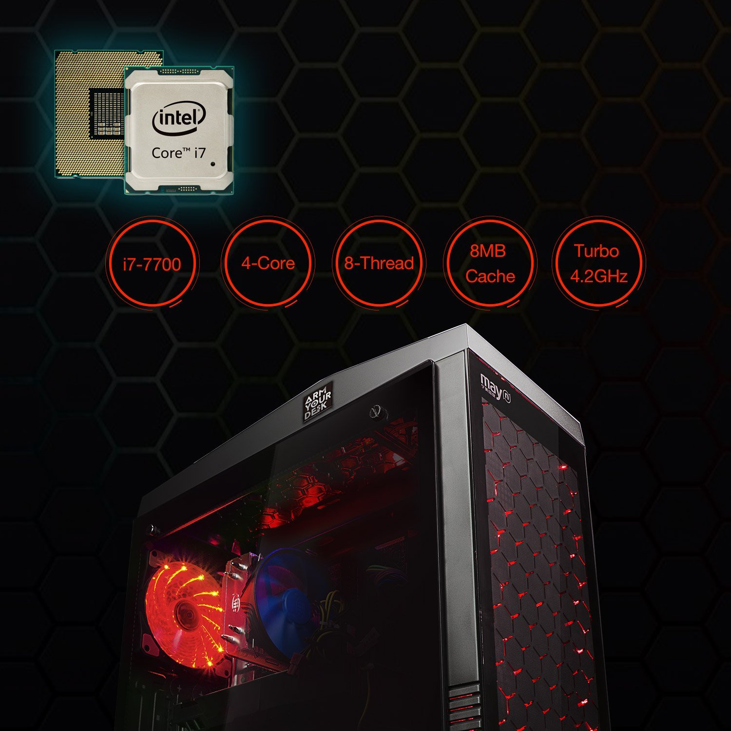 ArmYourDesk G50 Gaming PC