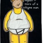 Bart Simpsons Cologne Man Beach Towel