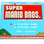Classic Super Mario Start Screen Ceramic Coasters