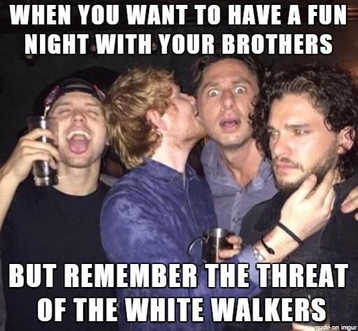 Jon Snow Focused