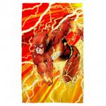 Justice League Lightning Dash The Flash Beach Towel