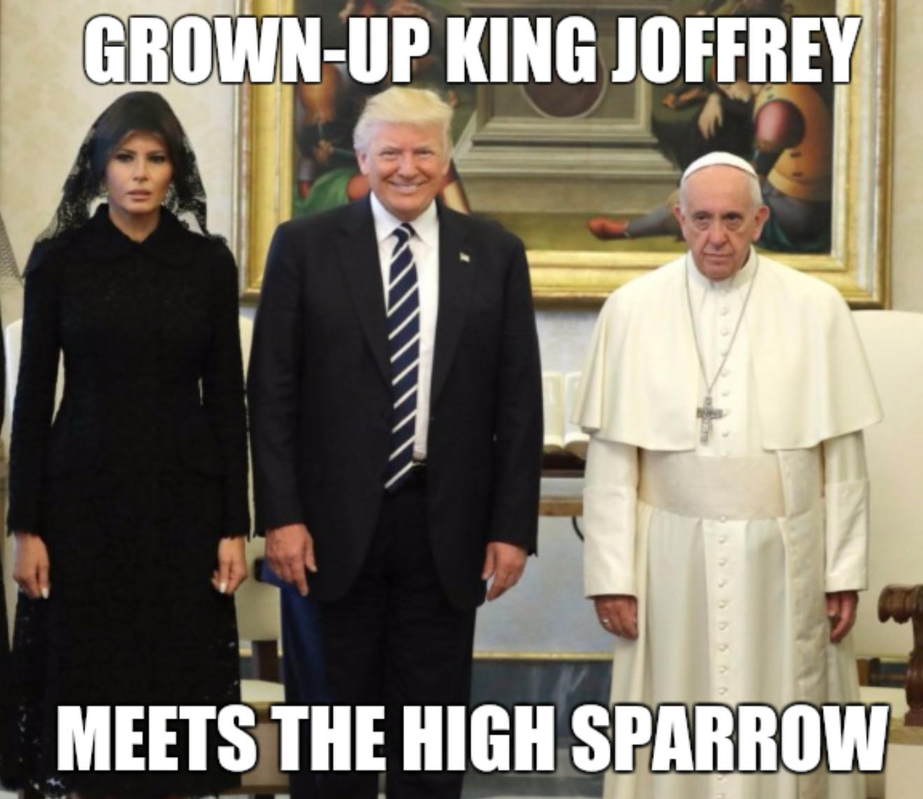 King Joffrey & High Sparrow