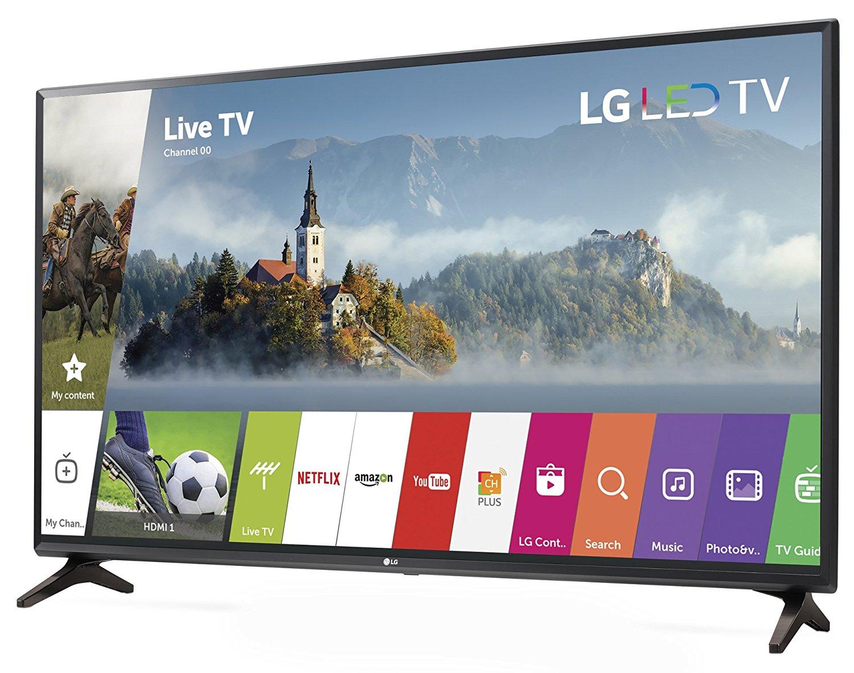 LG 32LJ550B 32-Inch 720p Smart LED TV