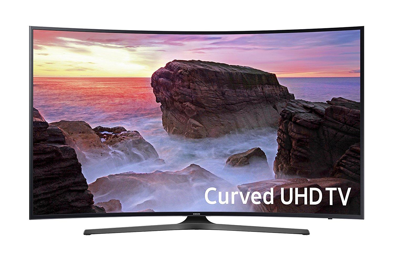 Samsung UN55MU6500 Curved 55-Inch 4K Ultra HD Smart LED TV