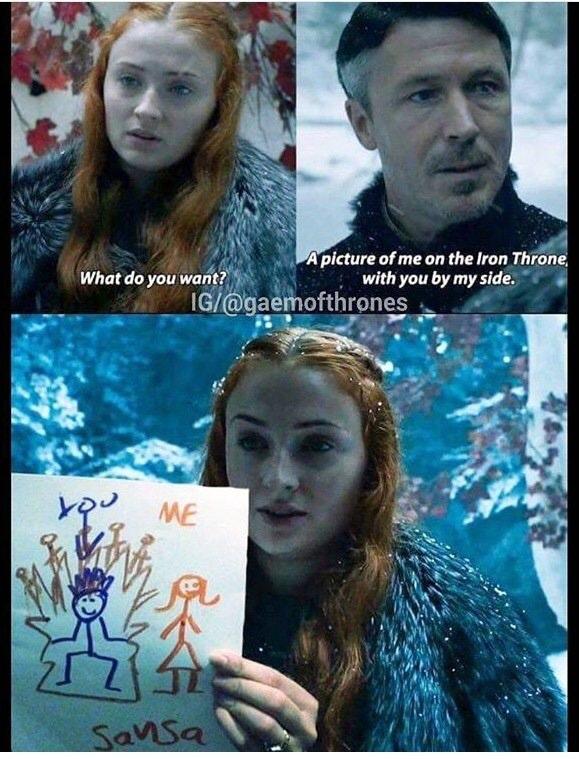 Sansa's Drawing