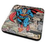 Superman DC Originals Comic Montage Coaster
