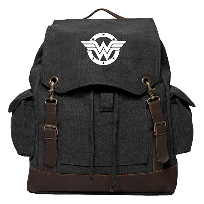 Wonder Woman Logo Backpack