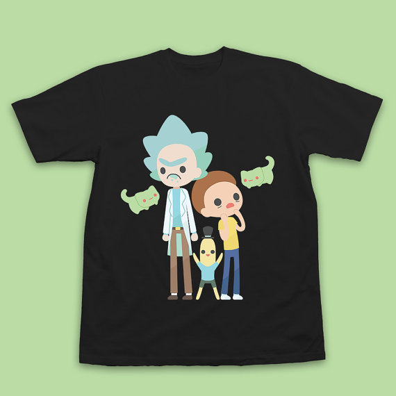 ricky and morty shirt
