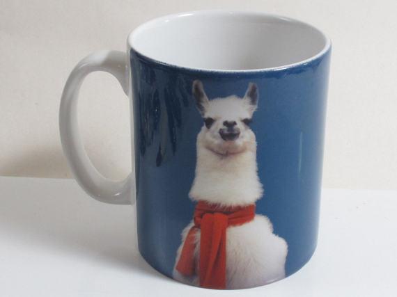Llama and Bananas Mug