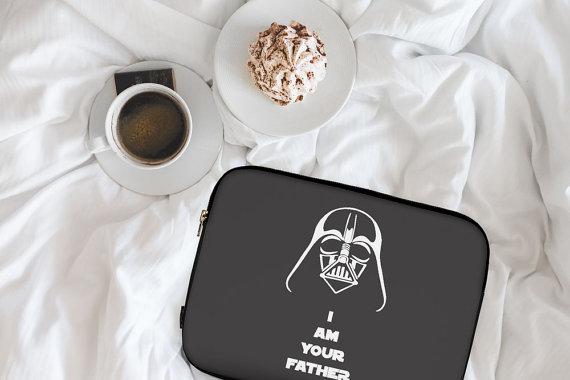 star wars padded laptop sleeve.