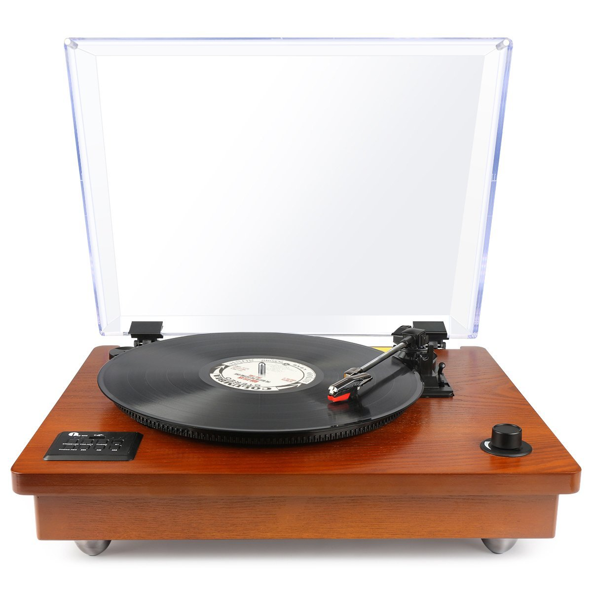 1byone Vintage Style Turntable