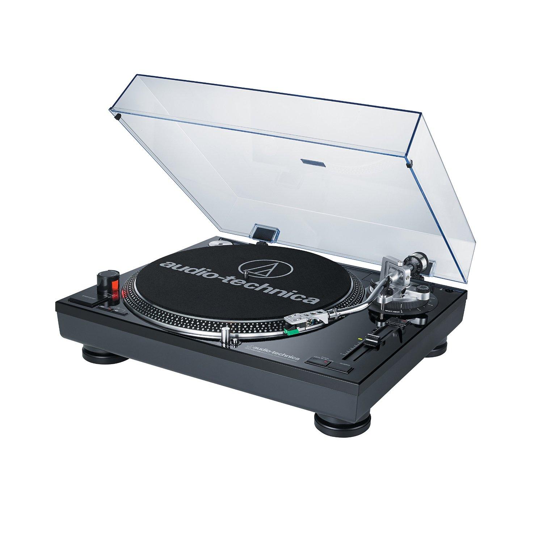 Audio Technica AT-LP120BK Professional Turntable
