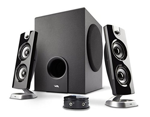 Cyber Acoustics 2.1 Speaker With Subwoofer