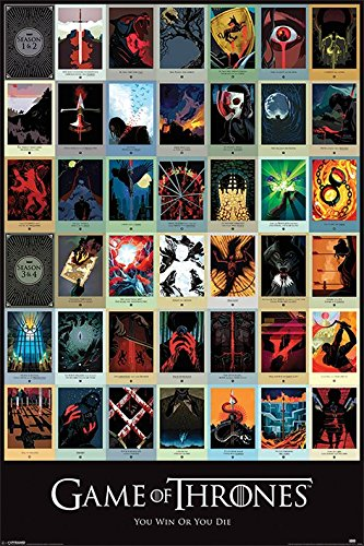 Game of Thrones Episodes Animation Poster