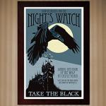 Game of Thrones Night's Watch Poster