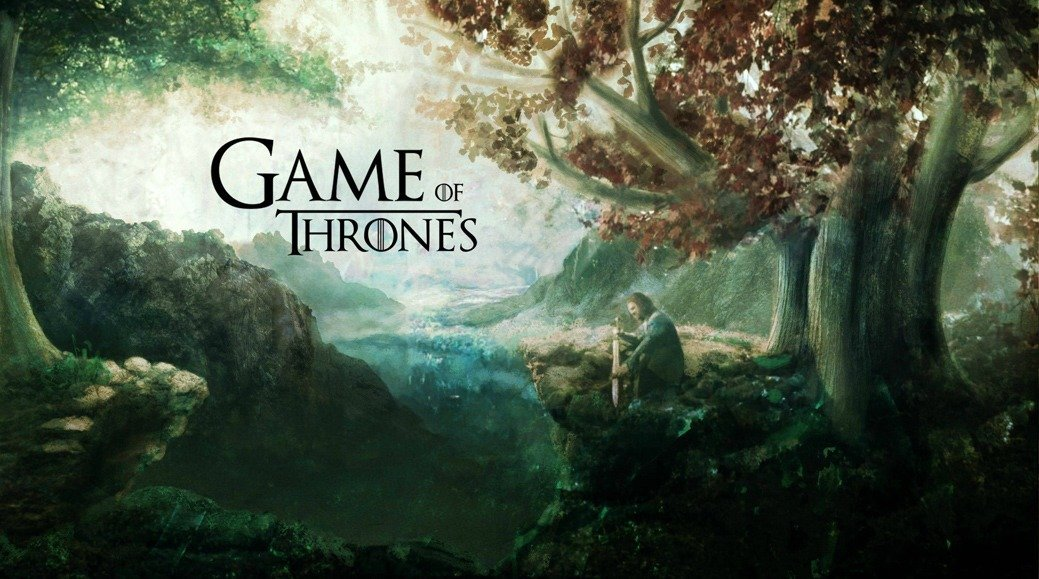 Game of Thrones Winterfell Godswood Poster