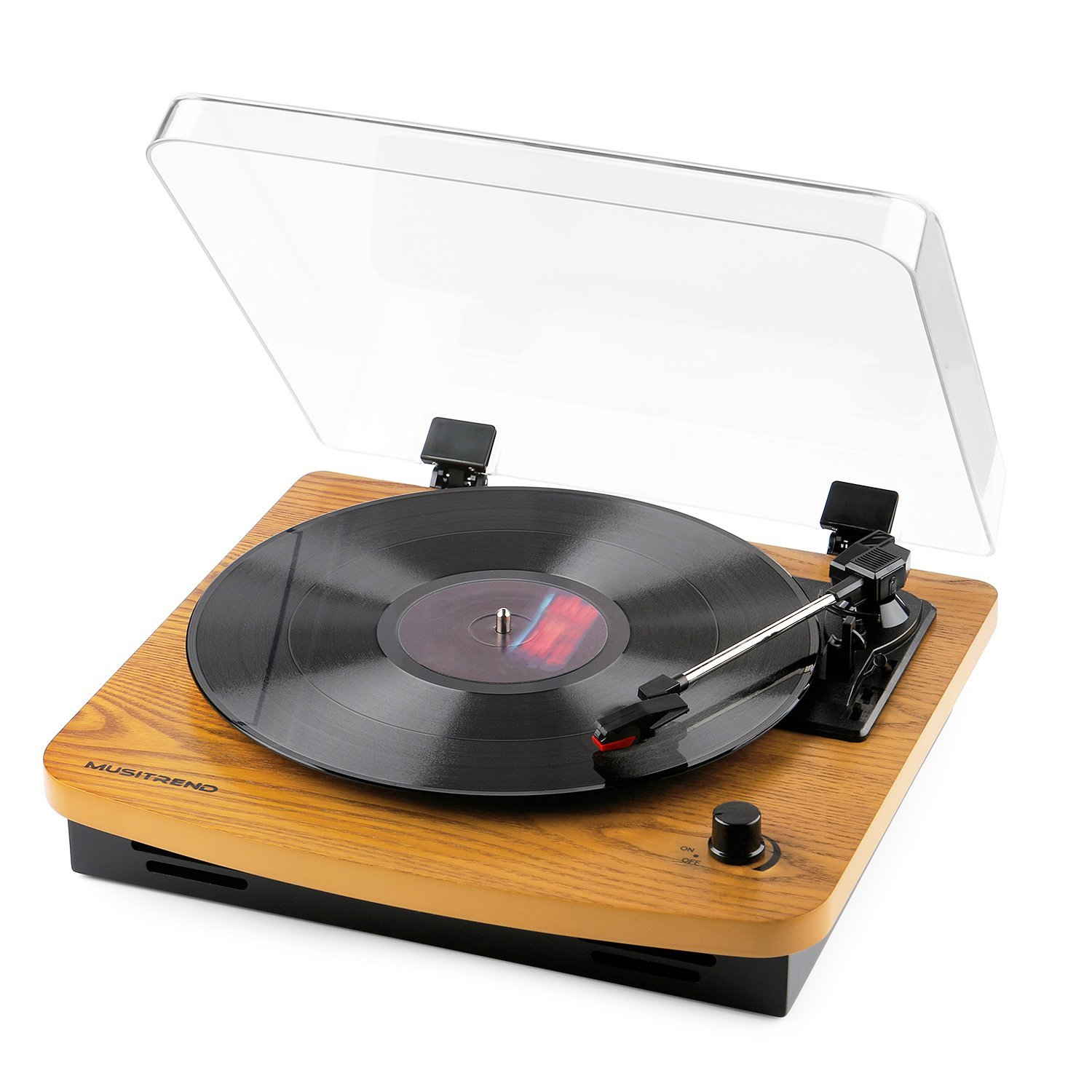 Audio Technica AT-LP60BK Stereo Turntable