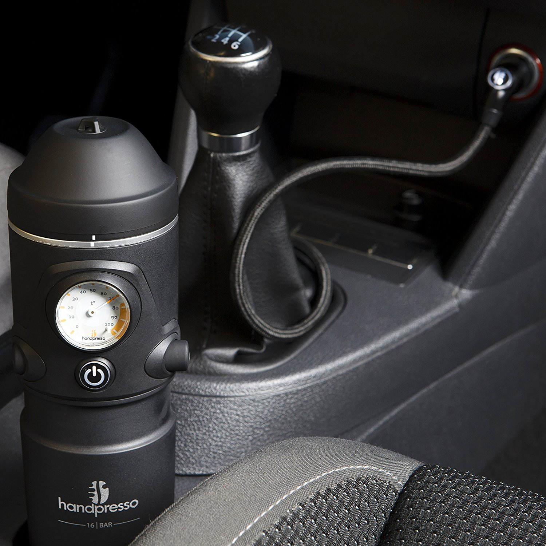handpresso cool coffee car gadget