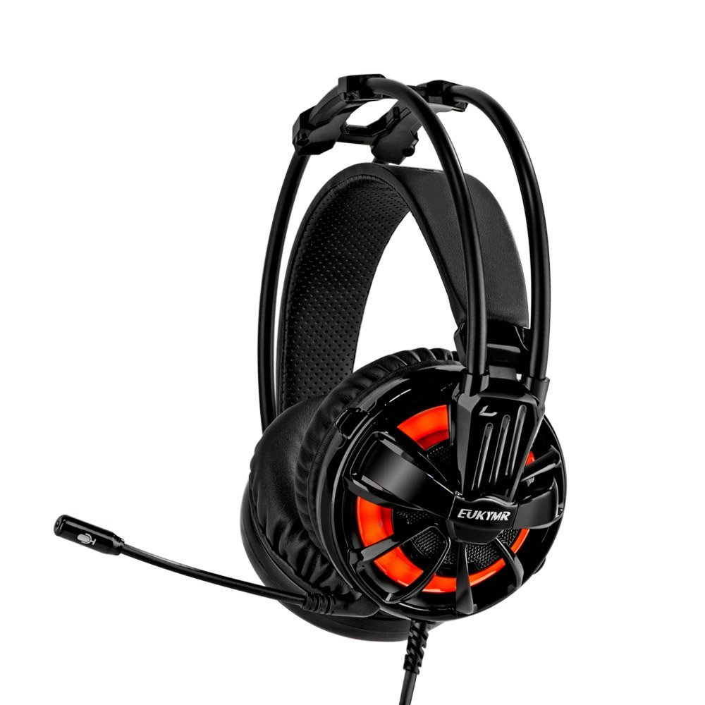 EUKYMR Gaming Headphones With Microphone