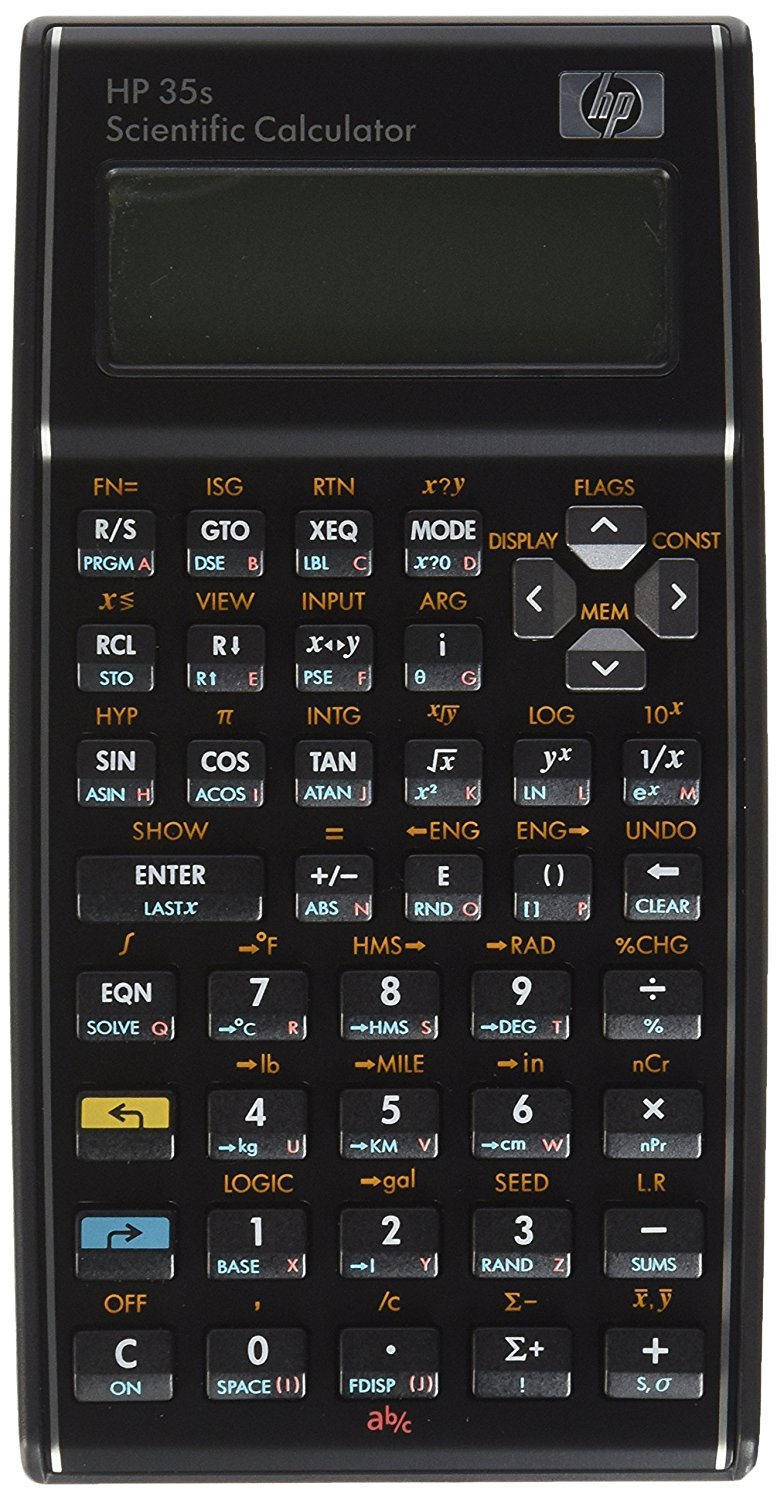 HP 35S Scientific Calculator