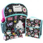 Hello Kitty 5 piece Backpack School Set
