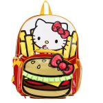 Hello Kitty Burger & Fries 16 Backpack and Insulated Lunch Bag – Kids