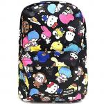Hello Kitty Friends Colorful Canvas School Kids Backpack