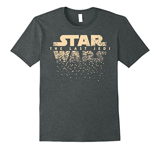 Star Wars The Last Jedi Disintegrating Art T-Shirt