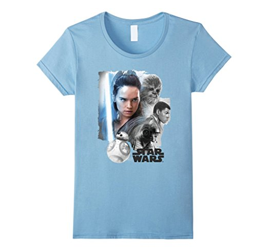Star Wars The Last Jedi Good Guys T-Shirt