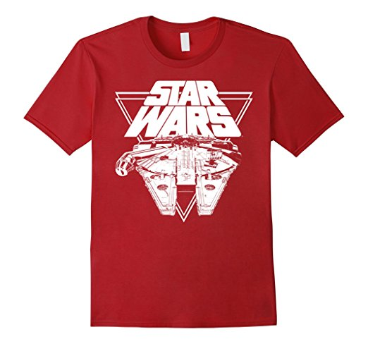 Star Wars The Last Jedi Millennium Falcon T-Shirt