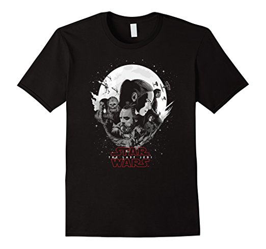 Star Wars The Last Jedi Moon T-Shirt