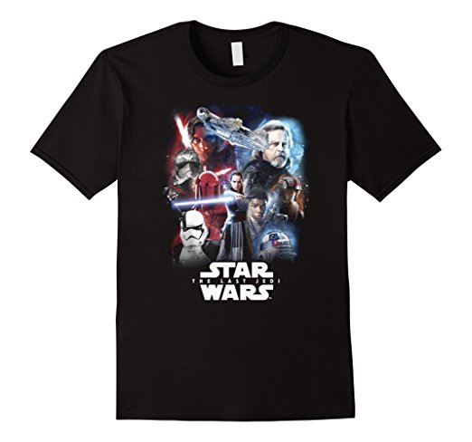 Star Wars the Last Jedi Portraits T-Shirt