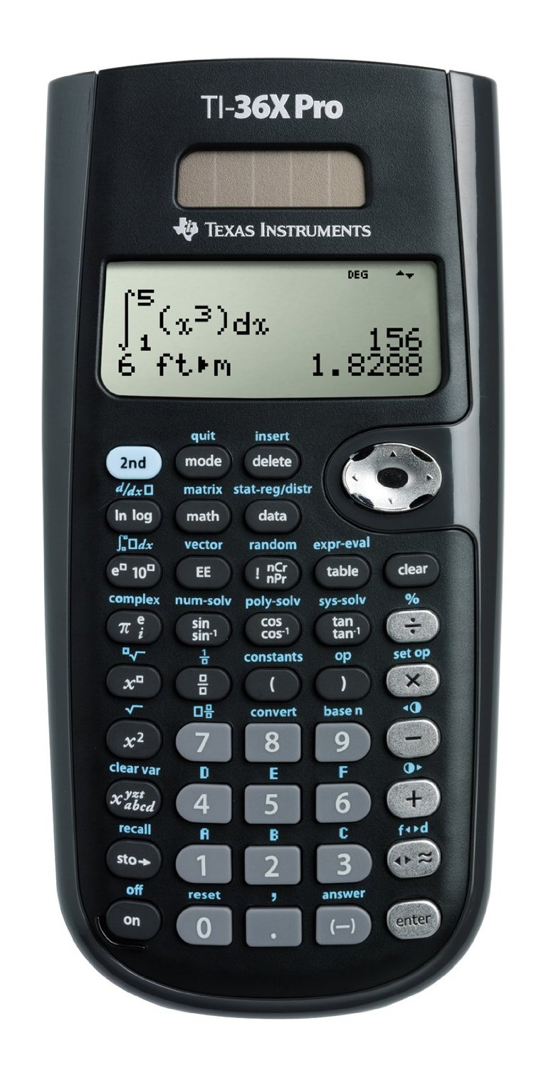 Texas Instruments TI-36X Scientific Calculator