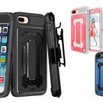 iPhone 8 Plus Case –Dual Layer Rugged Armor Holster