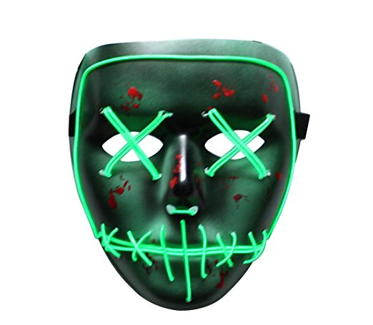 Green Scary Mask