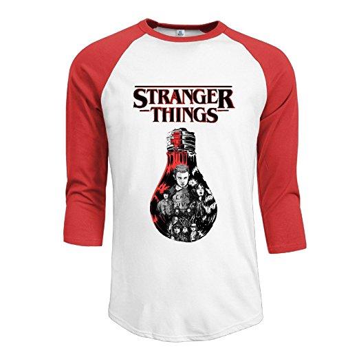 Stranger Things Baseball T-Shirt