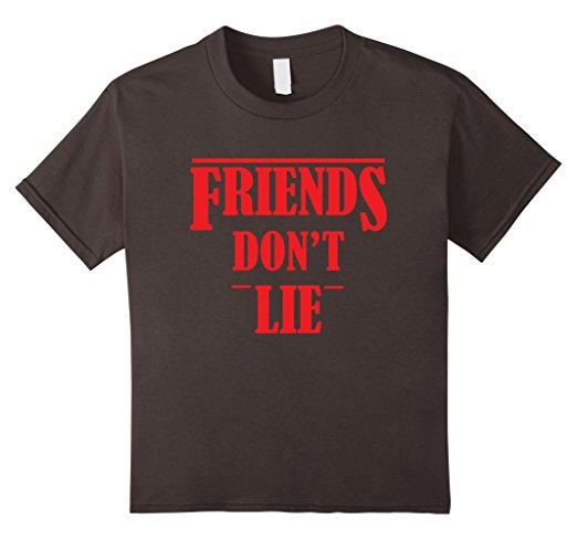 Stranger Things 'Friends Don't Lie' T-Shirt