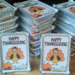 Thanksgiving Leftover Containers