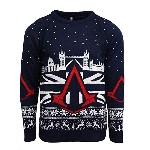 Assassin's Creed Syndicate ugly Christmas Sweater