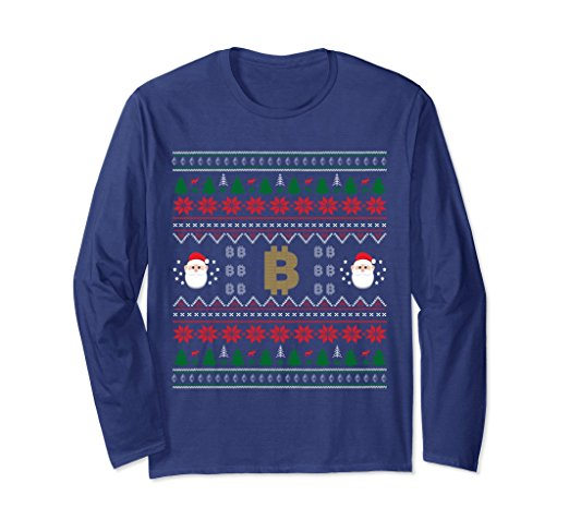 Ho Ho HODL Bitcoin Ugly Christmas Sweater